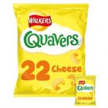 Walkers Quavers Cheese Snacks 22 X 16g